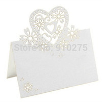 Wedding Event & Party Supplies,Other Festive & P Yes 100 X Laser Cut Love Heart Wedding Table Place Numbers Cards+ 100 X Wedding Candy Favor Boxes Wedding Birthday Party Decoration
