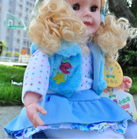 real doll - Fashion music doll real baby doll children gift doll