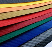 Wholesale 127X30cm D Car Film Carbon Fiber Vinyl Film Carbon Fibre Color Option Car Sticker High Quality Car Styling