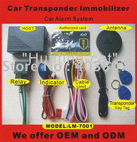 Cheap special offer RFID Car alarm transponder immobiliser LM7001 car security system