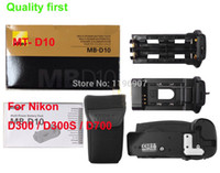 Wholesale New Boxed Package MB D10 Multi Power Battery Pack MB D10 MBD10 Battery Grip For Nikon D300 D300S D700