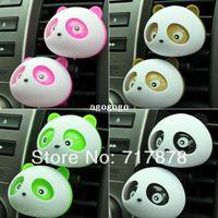 air free pandas - 20x Auto Dashboard Air Freshener blink Lovely Panda Perfume Diffuser for Car