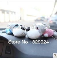 Wholesale Lover Big Eye Dog Car Bamboo Charcoal Bag Car Deodorizer Car air freshener colors