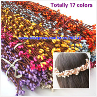 Wedding berry hair - Fast Shipping X High Quality PIP BERRY STEM in Colors FOR DIY Hair Wreath Other Colors Can Mix
