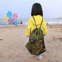 Cheap Digital Camouflage basketball family package travel pouch shoulder bag shoes debris bags