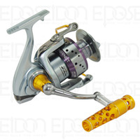 Cheap HS 12000 Ecooda Hornet Series Spinning Reels 7bbs 4.1:1 Gear Ratio Smooth Rotation Front Drag Spinning Reel Ocean Beach Fishing