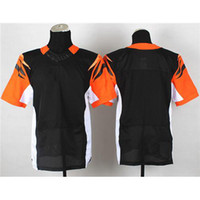Wholesale Blank Football Jerseys Elite Version Black Cheap Mans Jersey High Quality Embroidered American Football Apparel for Men