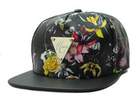 New Arrival Black Artificial Leather Hater snapback caps Adj...