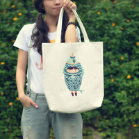 Wholesale The new constellation of sen University Department of printed canvas bag Korean style casual female mummy tote bag shopping bag