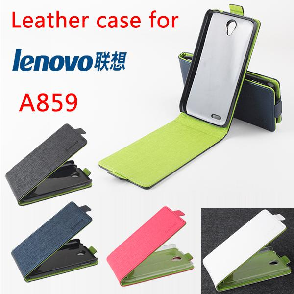 Case For Lenovo A859 Luxury Pu Leather Case Cover For
