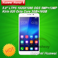 Wholesale Huawei Honor Dual SIM G LTE FDD Mobile Phone Octa Core GB GB Android inch IPS p MP Play Store GPS