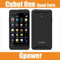 Cheap In Stock Cubot One Ones Android 4.2 Smart Phone MTK6589T Quad Core 1.5GHz 4.7 inch IPS Screen 1GB RAM 8GB ROM Camera 13MP GPS 3G