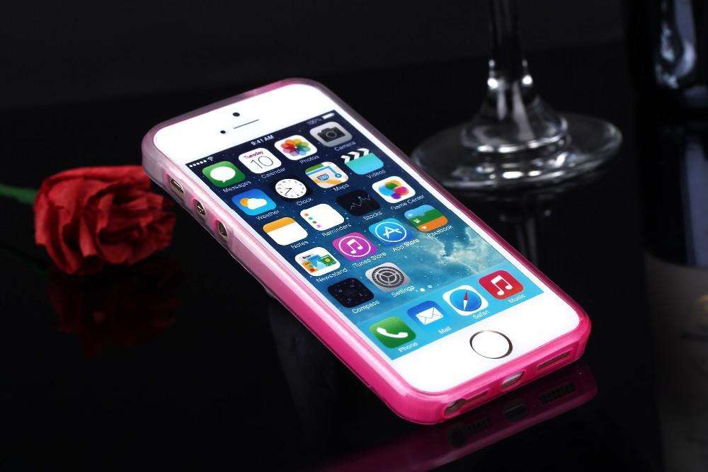 Buy Thin Transparent Soft Silicon Full TPU Crystal Clear Case Cover iPhone 5 5S Phone case iphone5s