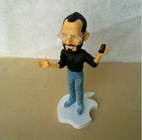Wholesale OP Hotsale Apples store CEO Steve Jobs figure cm resin material doll Artificial Sculpture Souvenir z