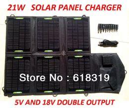 HOTSell 21W Высокая эффективность солнечной панели зарядное устройство / складной солнечной зарядки судоходства по FEDEX или EMS от Производители панель раз