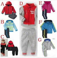 jogging suits - Bramd New children s shampooers jogging tracksuits sport set hooded coat pants kids baby boys Spring Autumn cartoon clothes Suit sets