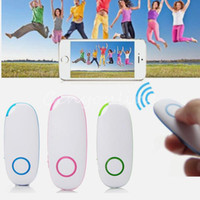 Wholesale 2014 New Stylish Portable Wireless Remote Control Bluetooth Camera Shutter for iPhone For iPad For Sumsung Android