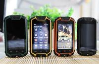 super slim - Rugged Z18 Phone Smartphone MTK6572 Daul Core Android Daul Sim Super Slim Mp Camera GPS Waterproof Dustproof Shockproof