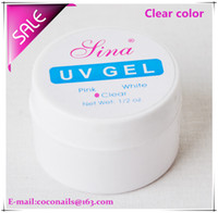 Wholesale Nail art Sina Clear builder uv gel clear builder gel nails G