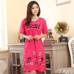 Wholesale 2014 Maternity Clothing Short Sleeve Women s Causal Dress Character Ladies Clothes for Pregnant Women WAY024