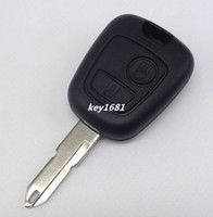 Wholesale Best Quality Buttons Remote Key Shell for Peugeot Citroen Car Keys Blank Key Cover Case Without LOGO