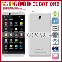 Cheap Hot Cubot One 1.5GHz MTK6589T 3G Smartphone Phone 1GB RAM 8GB ROM Dual Camera 13Mp Android 4.2 OS 4.7 Inch HD 1080*720P Screen!