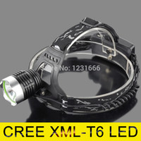 Cheap 2014 Sale Direct Selling Ccc Headlamp Zoom Cree Led Headlight Xm-l T6 1600lm Head Lamp Light for 2*18650+ac Charger car Charger