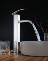 Cheap Newly Great Chrome brass mixer bathroom basin & sink faucet Tap