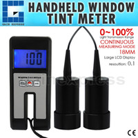 Wholesale WTM Digital Window Tint Meter Visual Light Transmission mm Thickness Continuous Measuring