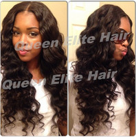 Wholesale Top Quality Lace wigs quot quot b virgin brazilian wavy lace front wigs for black women human hair wigs ccan be made bun