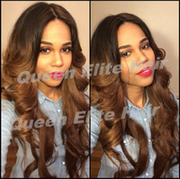 Cheap ombre glueless lace wigs Best two tone lace front wigs