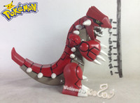 Wholesale New Arrival Pokemon Groudon Action Figures cm Can Rotate High Quality PVC Poke Game Figure Children Cartoon Toys Kids Gifts