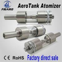 2.0ml Glass  Aero Tank 2.0ohm Vaporizer Atomizer Electronic Cigarette Rebuildable Pyrex Glass Clearomizer E Cigarette eGo