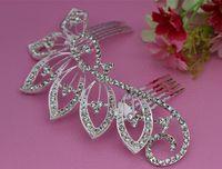 Other rhinestone hair comb - beautiful elegant wedding bridal hair comb crystal Rhinestone tuck Comb Hairpin A8