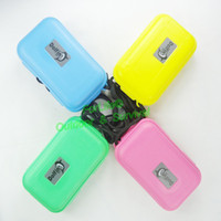 Wholesale Dolfin sealed Waterproof box watertight enclosure swimming box case personal survival kit colors