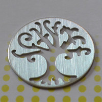 Wholesale Stainless Steel Floating Charms Plate For Glass Origami Owl Locket
