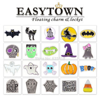 Wholesale 2014 new mixed Halloween floating charms each style