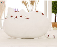 Wholesale Factory Supply Novelty Item Soft Plush Dtuffed Snimal Doll Talking Anime Toy Pusheen Cat For Kid