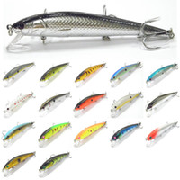 Wholesale Fishing Lure Body Minnow Crankbait Hard Bait Fresh Water Crappie Minnow to Fishing Tackle M509