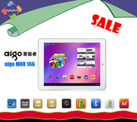 Under $200 aigo 8 inch Tablet PC aigo M88 Quad core 1.2G 1G RAM+16G ROM 0.3MP+2.0MP dual cameras Android tablet 5 Point Touch Screen1024*768 Pix tablet DHL Free