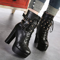 Cheap Ankle Boots Punk boot Best Knight Boots Women boots outdoor