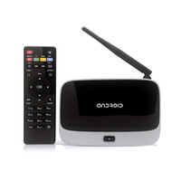 Cheap New Arrival !! Android 4.4 TV Box Q7 CS918 Full HD 1080P RK3188T Quad Core Media Player 1GB 8GB XBMC Wifi Antenna with Remote Control V763