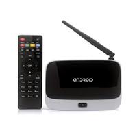 Nuovo Arrivo !! Android 4.4 TV Box Q7 CS918 Full HD 1080P RK3188T Quad Core Media Player 1GB/8GB XBMC Antenna Wifi con Telecomando V763
