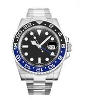 Wholesale Men s luxury fashion brand watch Men s Automatic gmt steel watch R46