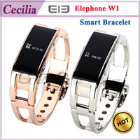 Wholesale Elephone W1 Bluetooth Smart watch Bracelet Wristband Energy Bracelet for Android cell Phones Tablets