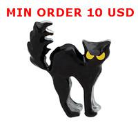 Cheap BLACK CAT floating charms for magnetic glass memory living locket