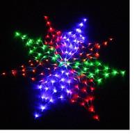 led christmas net lights - Colorful LED Chirstmas light LED Wedding Net Lights for Christmas Party led lighting LY
