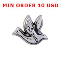 Wholesale CHILDHELP DOVE floating charms for magnetic glass memory living locket