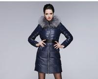 2014 Winter New fur collar Woman Long Down coat Faishon Styl...