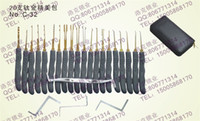 Wholesale toolsGOSO just on the hook essential tool locksmith tools locksmith open car locks word lockknife